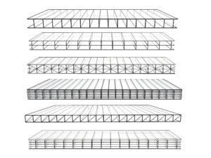 Multi Wall Flat Sheet